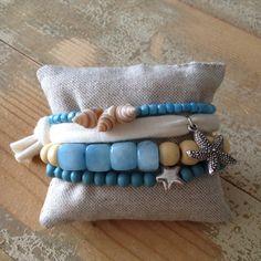 Nice set of bracelets! www.be-beryl.nl