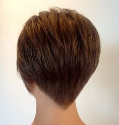 2015 - 2016 Super Short Hairstyles& New Trends! Short Hair Trends, Short Hair Styles Easy, Short Hair Cuts For Women, Short Hair With Layers, New Short Hairstyles, Hairstyles 2016, Quick Hairstyles, Short Hair Back, Super Short Hair