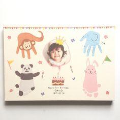 子どもの絵や作品をおしゃれに飾れるファブリックパネルに仕立てます。子どものアートはお部屋のインテリアにピッタリ! Baby Crafts, Diy And Crafts, Crafts For Kids, Toddler Art, Toddler Crafts, Art Lessons For Kids, Art For Kids, Fingerprint Cards, Monthly Pictures
