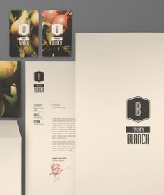 Fuita Blanch branding, looks very natural and wholesome because of the off white background and minimal colours scheme.