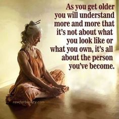 As you get older. See more at the new Downdog Diary Yoga Blog found exclusively at www.downdogboutique.com DownDog Diary brings together yoga stories from around the web on Yoga Lifestyle, Yoga Practice, Yoga Celebrities, Golden Years Yoga, Yoga Travel & Retreats and Health & Wellness.