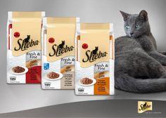 Die Neuheit im Tierfutterregal ist in innovativen 50 g-Portionsbeuteln erhältlich. Die Futtermenge ist ideal für eine Katzenmahlzeit geeignet. Bild: Mars