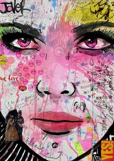 "Saatchi Art Artist Loui Jover; Drawing, ""we love"" #art"