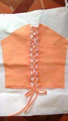 Discover thousands of images about Sleeve pattern cutt Kurti Sleeves Design, Kurta Neck Design, Sleeves Designs For Dresses, Sleeve Designs, Back Neck Designs, Fancy Blouse Designs, Blouse Neck Designs, Designer Blouse Patterns, Dress Sewing Patterns