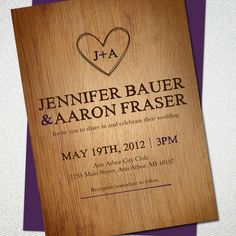 rustic wedding invitations | 21st - Bridal World - Wedding Ideas and Trends