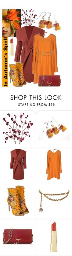 """In Autumn's Spell"" by belladonnasjoy ❤ liked on Polyvore featuring Cost Plus World Market, American Vintage, Chanel, Zadig & Voltaire and Axiology"