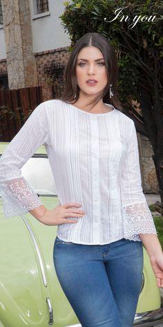Las blusas nos diferencian por nuestra calidad y diseños. Conoce más de estos hermosos diseños con la marca número uno en Colombia. Blouse, Long Sleeve, Sleeves, Outfits, Tops, Women, Fashion, Fashion Blouses, Athletic Wear