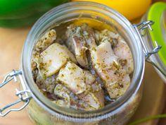 Śledzie z czosnkiem i majerankiem - PrzyslijPrzepis.pl Mashed Potatoes, Pork, Meat, Ethnic Recipes, Pisces, Whipped Potatoes, Kale Stir Fry, Smash Potatoes, Pork Chops