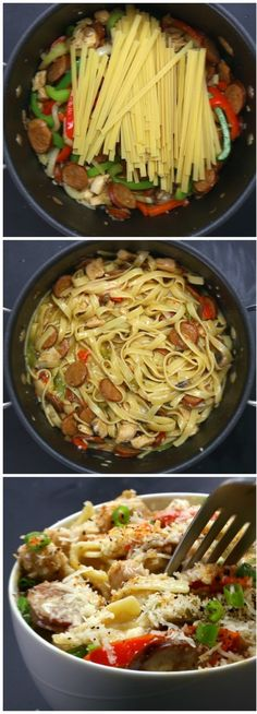 One-Pot Cajun Pasta | Here's Six Ways You Can Make Pasta Taste Delicious AF