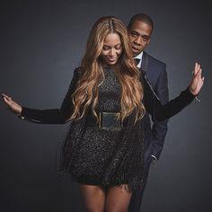 Beyoncé & Jay-Z from 2015 Grammys Portraits | E! Online
