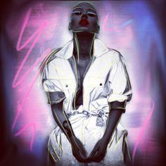 @voidofchris version of Iggy. #powershift #chrissutton #iggyazalea. 9th September 2013.
