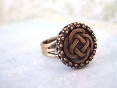 Celtic knot ring.