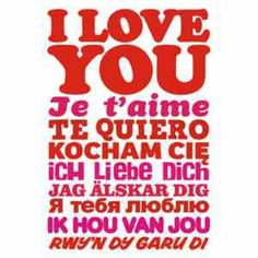 Love u in all languages! !