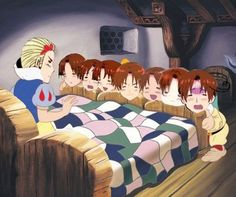 Hetalia-Snow White crossoveri can't decide if this is funny or terrafiying
