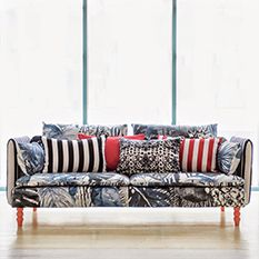 Christian Lacroix, Now Available At Bemz. Soderhamn 3 Seater Sofa Cover In  Jardin Exo