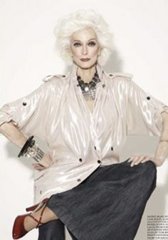 ~Carmen Dell'Orefice ~*