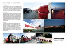 Bridgestone Tyres: Tire Safety Wall