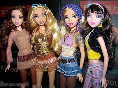 My Scene Barbie Dolls