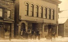 The Italian Hall in Calumet, Michigan, site of the 1913 disaster