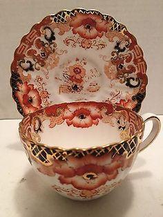 Vintage Radfords Fenton Bone China Tea Cup and Saucer