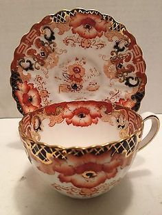 Vintage Radfords Fenton Bone China Tea Cup and Saucer