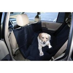 Back Seat Pet Hammock. Check it out at www.mybeagletraining.com/store