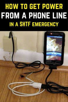 How To Get Power From A Phone Line In An Emergency