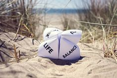 Work life balance choices by BrianAJackson. Origami fortune teller on vacation at the beach concept for work life balance choices Origami Fortune Teller, Employee Engagement, Health Logo, Health Center, Work Life Balance, When You Love, Social Work, Workout Programs, Self Care