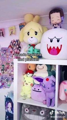 Cute Room Ideas, Cute Room Decor, Anime Crafts, Gaming Room Setup, Kawaii Room, Kawaii Things, Indie Room, Gamer Room, Room Ideas Bedroom