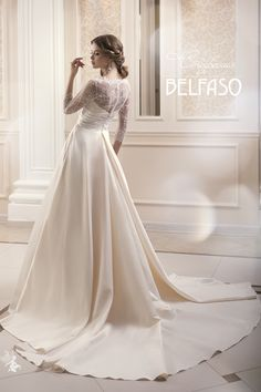 Timeless Bridal Gowns by Balfasos Pre Collection 2015 Perfect Wedding Dress, One Shoulder Wedding Dress, 2015 Wedding Dresses, Wedding Gowns, Dream Dress, Bridal Gowns, Bride, How To Wear, Inspiration