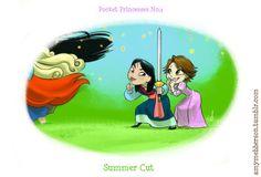 Pocket Princesses No.3 - disney-princess photo