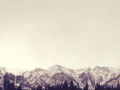 ropeandsaw:  i wake to a perfect patience of mountains.  - e.e. cummings