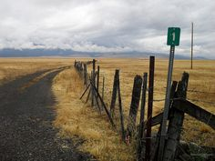 The road to Strawberry Wilderness outside Prairie City, Oregon in eastern Oregon.