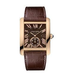 Cartier Tank MC Automatic Pink Gold Watch W5330002