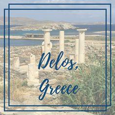 Delos, Greece Mykonos