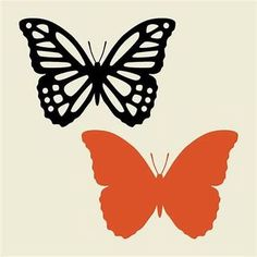 Free Butterfly SVG Files for Cricut - Bing images Butterfly Stencil, Butterfly Template, Flower Template, Butterfly Design, Butterfly Canvas, Crown Template, Heart Template, Paper Butterflies, Paper Flowers