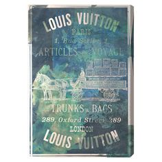 Articles on the Water Canvas Print, Oliver Gal at Joss and Main