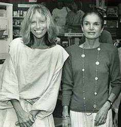 Jackie and friend Carly Simon.