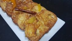 Amigos na Cozinha: Rabanadas com Calda de laranja French Toast, Pork, Meat, Breakfast, Flavored Milk, Sauteed Kale, Aioli Sauce, Tartar Sauce, Simple French Toast
