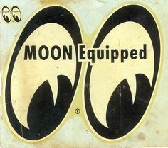Another from m collection, a wet back decal Moon Equipped.