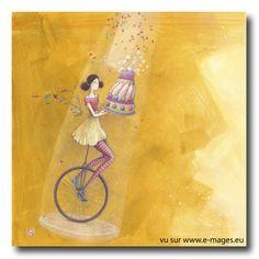 Nouveautés > BOISSONNARD Le Monocycle D'anniversaire - e-mages - La carterie d art