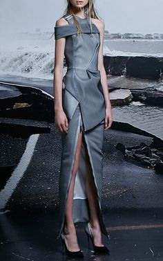 Identify Long Line Skirt by Maticevski   Moda Operandi