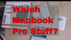 15 inch MacBook Pro Bag Adapter and Cable Recommendations 2018 https://youtu.be/LTqv-1OGLSw