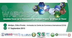 Forum sur le financement des énergies propres en Afrique de l'Ouest (WAFCEF2)…