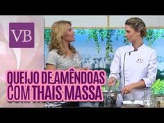 THAIS MASSA - QUEIJO VEGANO - YouTube