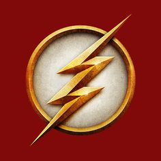 Flash Superhero Logo. From The CW Flash on Facebook.