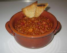 Zuppa di lenticchie. Scopri la ricetta: http://www.misya.info/2011/11/09/zuppa-di-lenticchie.htm