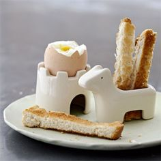Egg + Soldiers