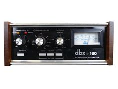 DBX 160 VU Single #10843 (used) | VintageKing.com (great on kick, bass ,snare)