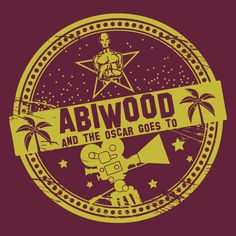 Abimotto: ABIwood -  And the oscar goes to | A-MC268863-1 | Schuldruckerei.com